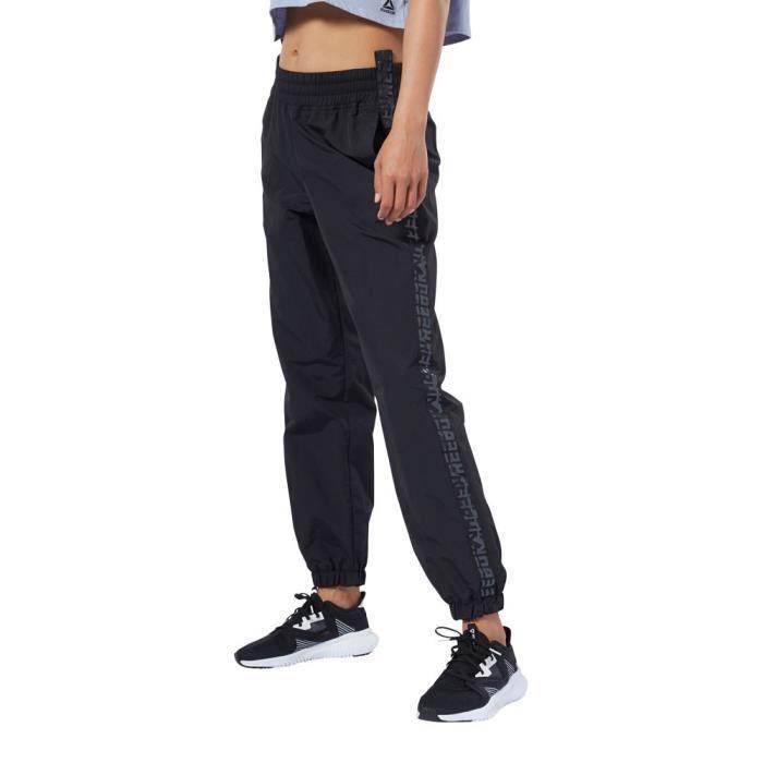 Reebok Femmes Wor Tissé Pantalon De Survêtement
