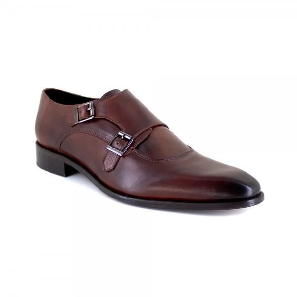Richelieu J.Bradford Cuir Marron JB-SMART - Couleur - Marron