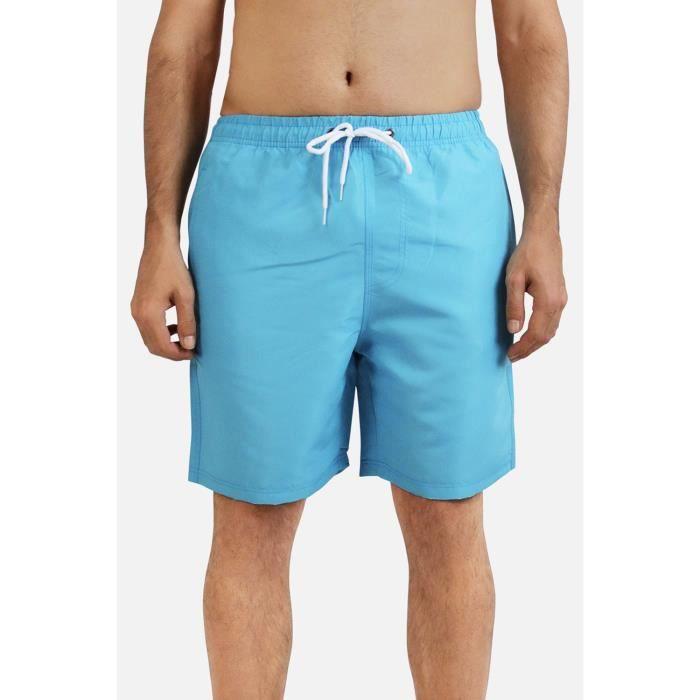 Short de bain Homme Bleu