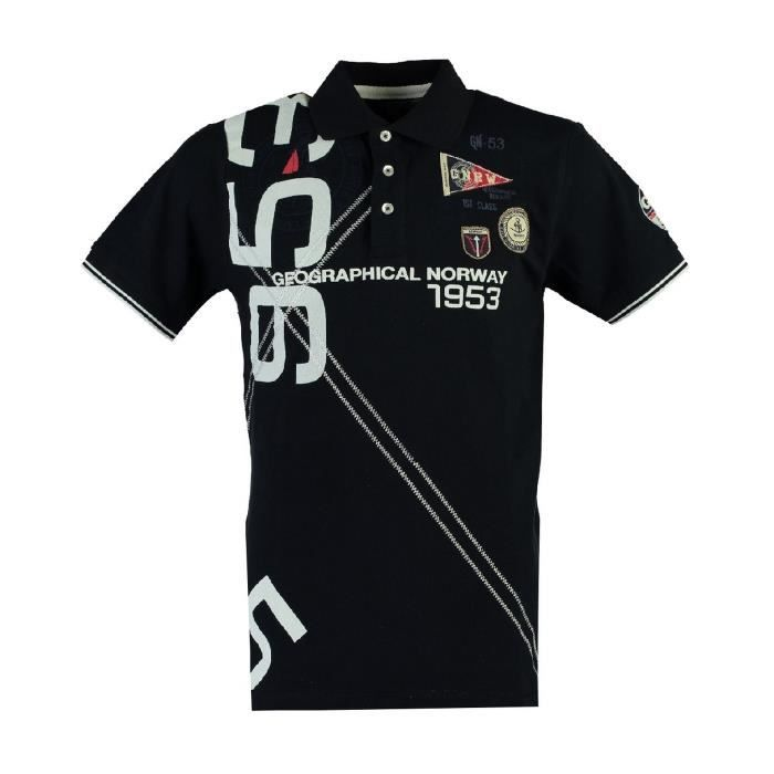 Polo Homme Geographical Norway Kilian Marine