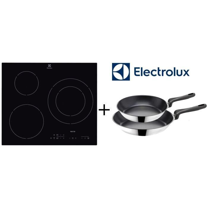 electrolux pack cuisson e6113hik table de induction 3 electrom nager. Black Bedroom Furniture Sets. Home Design Ideas