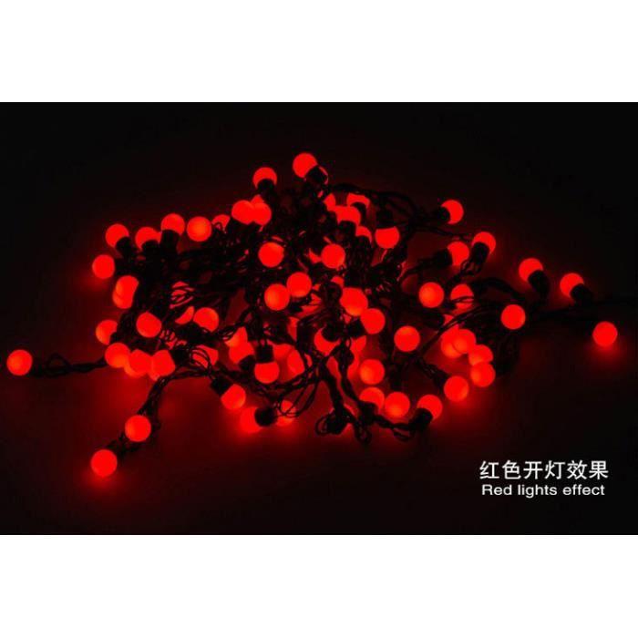 Batterie cœur DEL Fée Lumière de corde 5 mètres