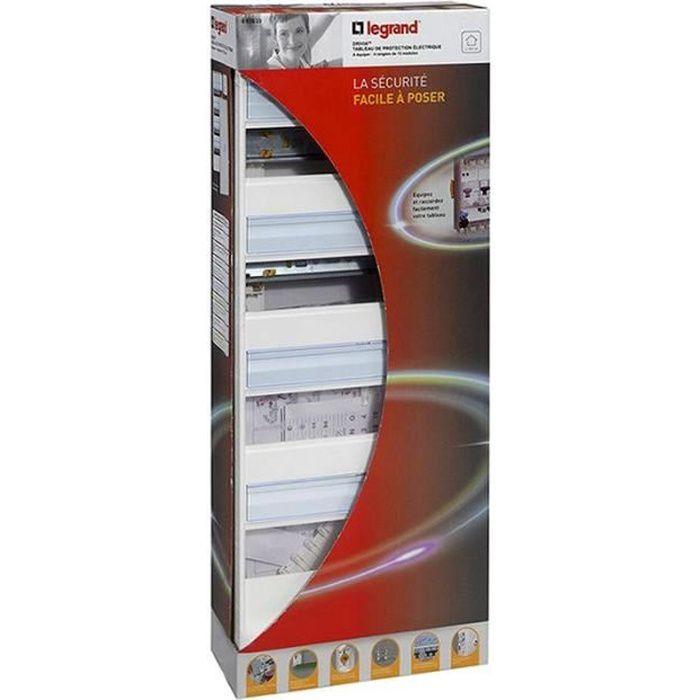 Legrand Coffret Electrique Nu A Equiper 4 Rangees 52 Modules Achat Vente Tableau Electrique Coffret A Equiper 4 Rangees Cdiscount