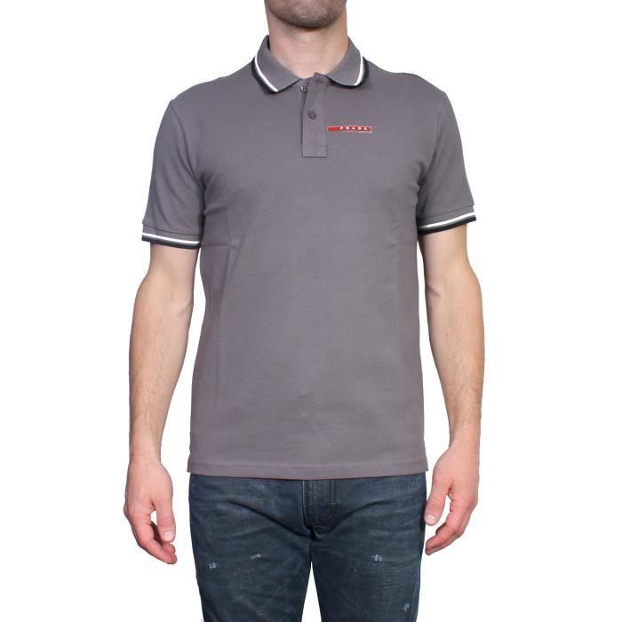 PRADA - Polo pour Homme Slim Fit SJJ887 Gris