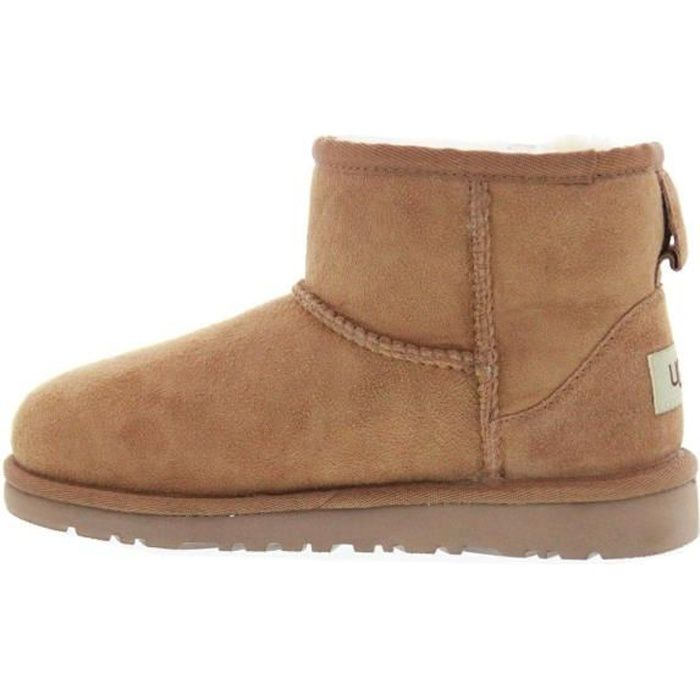 ugg classic mini ii marron clair