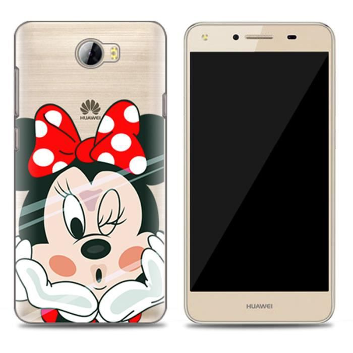 Coque pour huawei y5 ii smartphone conception de minnie for Housse huawei y5 ii