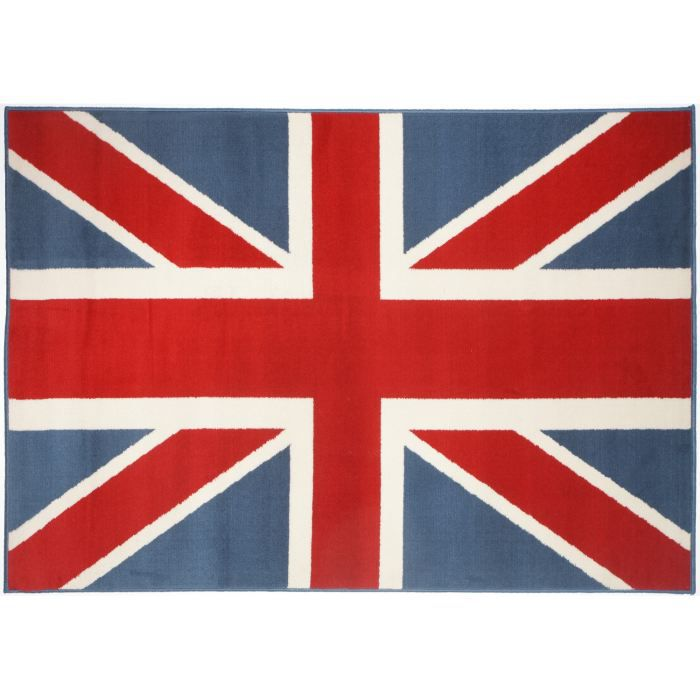 tapis salon urban drapeau anglais union jack un achat. Black Bedroom Furniture Sets. Home Design Ideas