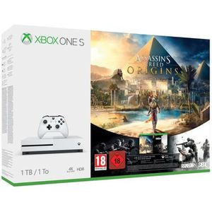 CONSOLE XBOX ONE Xbox One S 1 To Assassin's Creed Origins + Rainbow