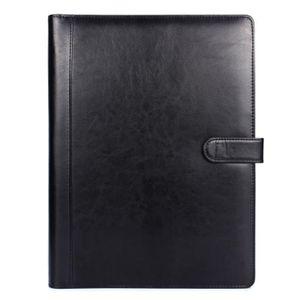 ATTACHÉ-CASE Porte-documents conférence portable en cuir A4 Por