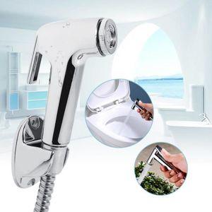Abcidubxc 1 ensemble de robinet de WC portable en plastique lavabo douchette /à main douchette bidet accessoires de salle de bain pour la maison