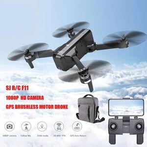 DRONE SJRC F11 GPS 5G WiFi FPV 1080P Caméra HD Pliable B