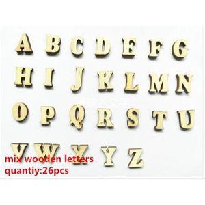 OBJET DÉCORATIF décoration maison complete 26 Letters Complet 26 l