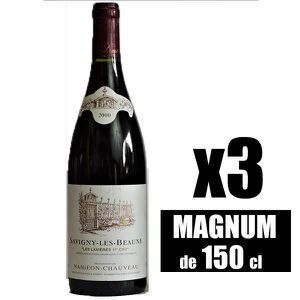 VIN ROUGE X3 Savigny-Les-Beaunes 1er Cru
