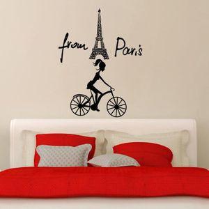 Creative La Tour Eiffel Paris Stickers Muraux Pour Chambre A