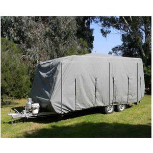 la Neige Noblik Housse Universelle /étanche pour remorquage de Caravane Protection Contre la Pluie la poussi/ère et la poussi/ère pour Caravane
