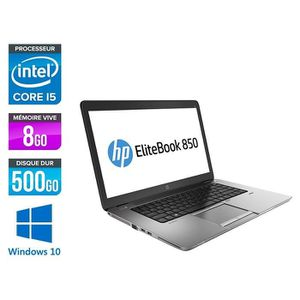 ORDI BUREAU RECONDITIONNÉ Hp EliteBook 850 G1 15