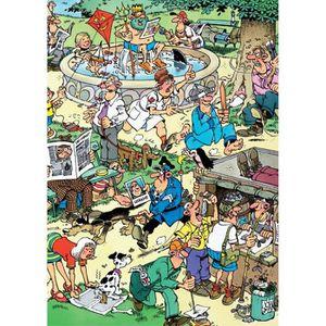 PUZZLE Puzzle 150 pièces Jan Van Haasteren - S'amuser dan