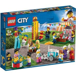 ASSEMBLAGE CONSTRUCTION LEGO® City 60234 Ensemble de figurines - La fête f