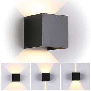 APPLIQUE  Applique murale 7W LED lampe carrée interieur régl