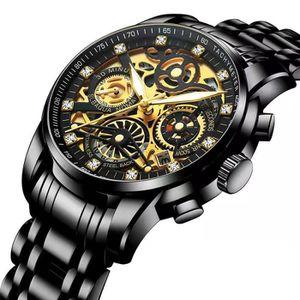 MONTRE RMEGA® Montre bracelet Homme - Top Marque Luxe - C