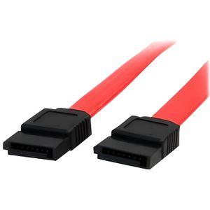 CÂBLE E-SATA Câble SATA de 46 cm - Cordon Serial ATA en rouge -