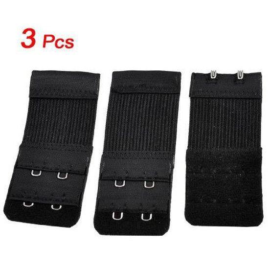 3 rang/ées x 4 crochets 3 rang/ées x 3 crochets ICEBLUEOR Extension de soutien-gorge extensible pour femme 3 rang/ées x 2 crochets
