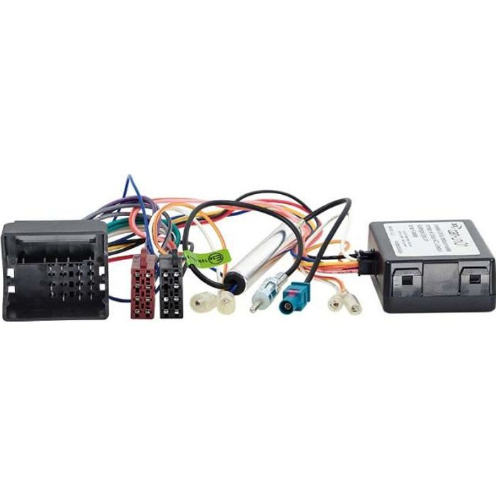 Kit CAN-Bus Citroen / Peugeot Quadlock > ISO / Antenne > DIN