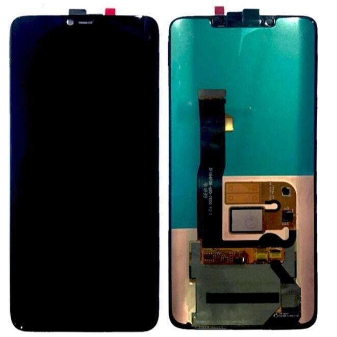 Ecran De Téléphone Pour Huawei Mate 20 pro Lcd + Tactile Assemblé Avec câble d'empreinte digitale - noir