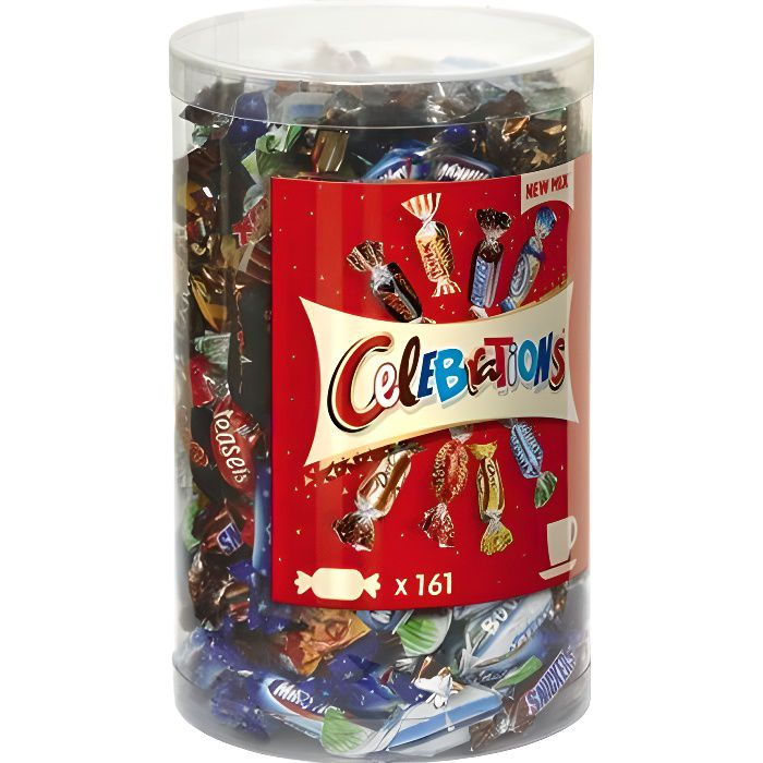 Celebrations Bonbon pack de 161