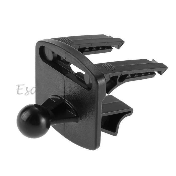 Noir Support Fixation Stand Mount Grille Aération Voiture Pour GPS Garmin Nuvi Aa00141