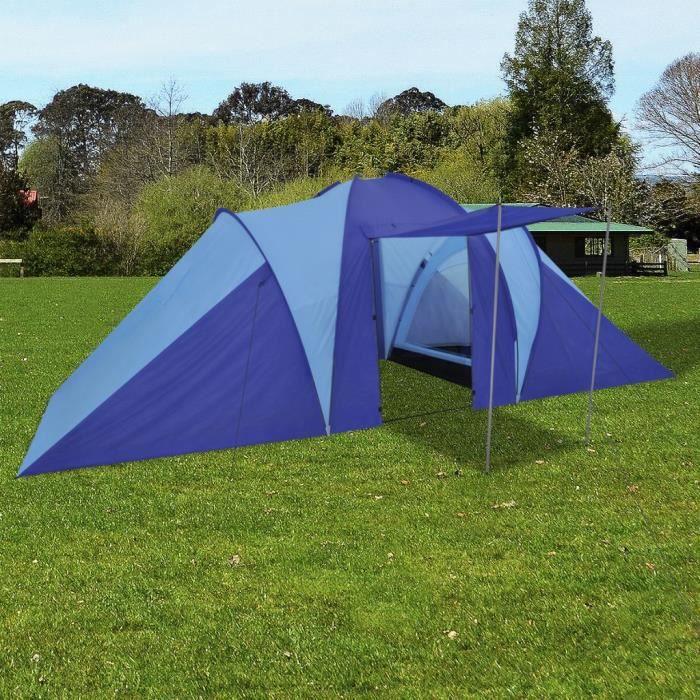 #MEUBLE#6442Haute qualité Tente de camping familiale 4-6 personnes Haut de gamme Professionnel - Tente Camping Extérieur Imperméable