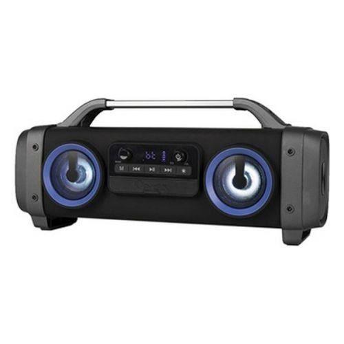 Haut-parleurs bluetooth portables Boombox NGS Street Breaker Mini LED 3600 mAh 100W Noir