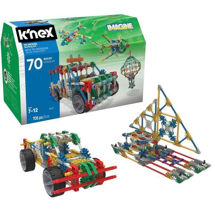 ENSEMBLE DE CONSTRUCTION DE MODÈLE KNEX 70