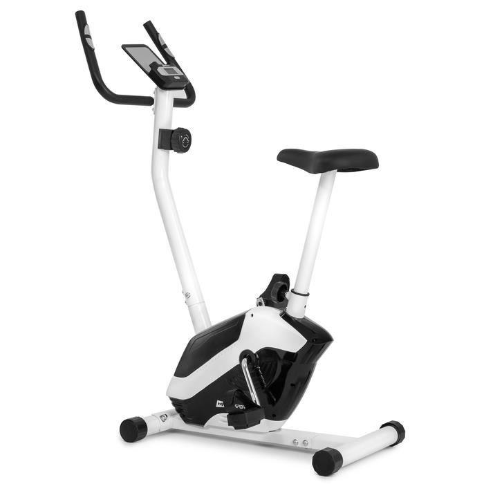 Hop-Sport Vélo d'appartement HS-045H EOS, Capteur cardiaque, Porte-tablette Charge max. 120 kg