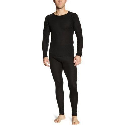 Maier Sports Sous-vêtement de ski Haut et bas Homme noir M - 998180