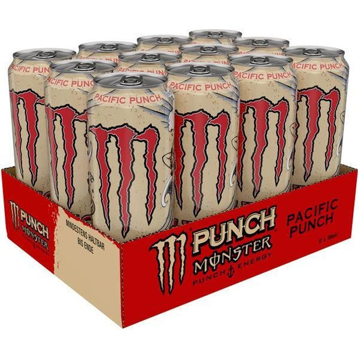 Monster Energy Drink Pacific Punch 0,5l (Pack de 12)