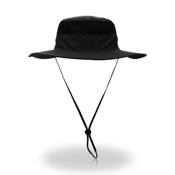 Chapeau Professionnel K3S2I chapeau à large bord pour femmes, léger, respirant et imperméable - outdoor, protection solaire 50 Taill