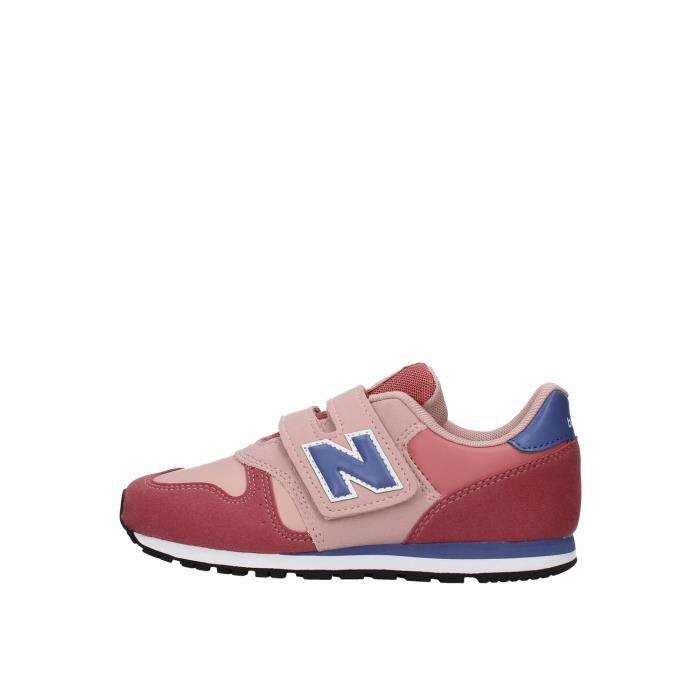 New Balance YV373KPP chaussures de tennis faible Enfant ROSE