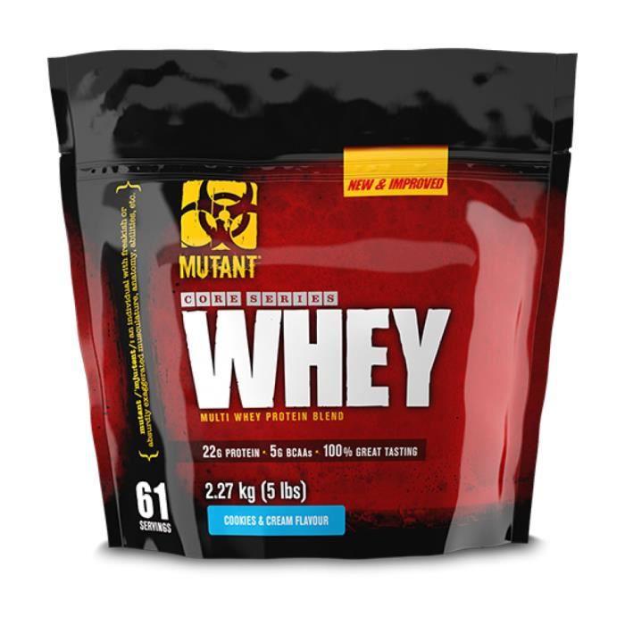 Mutant Whey 2.27 kg (Biscuits et crème)
