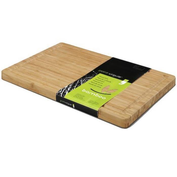Point virgule - planche à découper bambou 51x36x3cm - pvbam1130