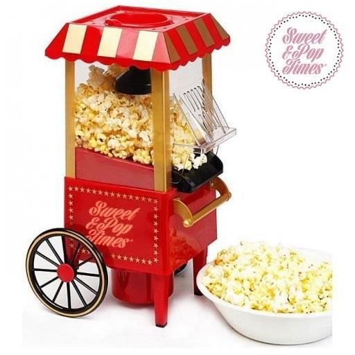 machine pop corn vintage achat vente lot petite cuisson cdiscount. Black Bedroom Furniture Sets. Home Design Ideas