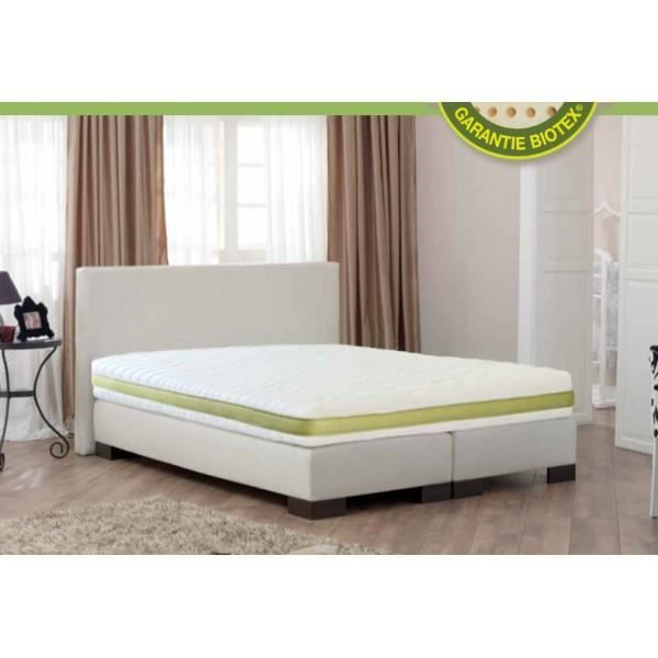 matelas 100 latex naturel ecolux 70x190 achat vente matelas cdiscount. Black Bedroom Furniture Sets. Home Design Ideas