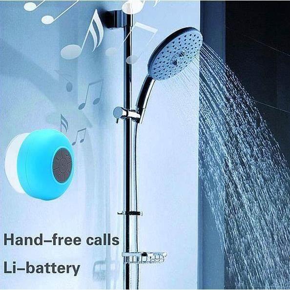 ENCEINTE NOMADE Enceinte & micro intégré Bluetooth Étanche