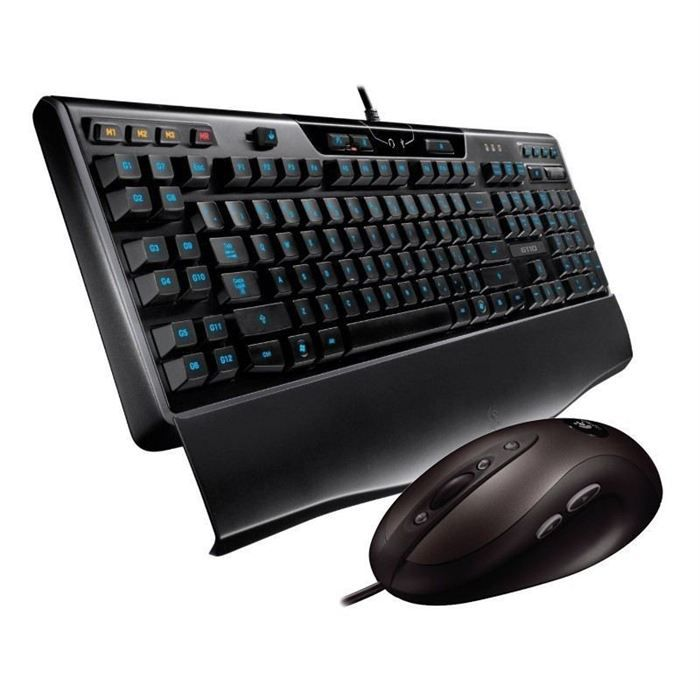 PACK PERIPHERIQUE Logitech Gaming Keyboard G110 & Mouse G400