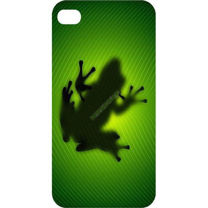 coque iphone 5 grenouille