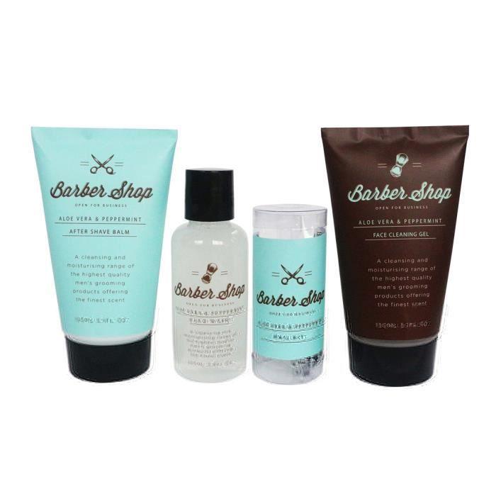 KIT RASAGE Gloss - Coffret rasage pour homme - Trousse de bai