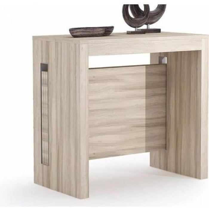 console extensible avec rallonges intgres console extensible pas cher with console extensible. Black Bedroom Furniture Sets. Home Design Ideas