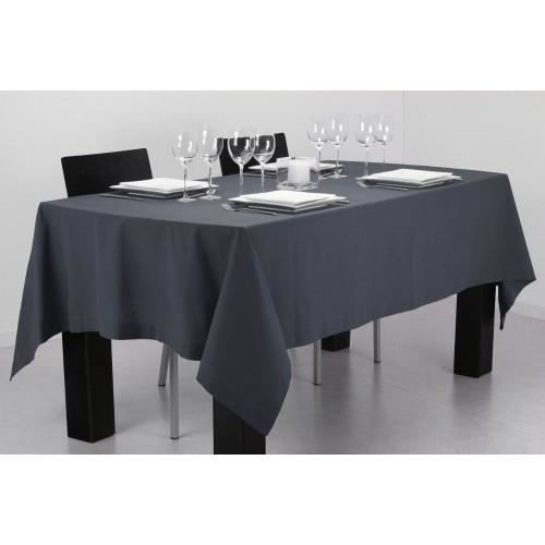 nappe rectangulaire grise table de cuisine. Black Bedroom Furniture Sets. Home Design Ideas