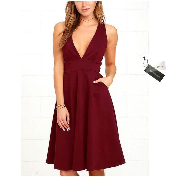 Dresstells robe de cocktail/bal/soirée pour