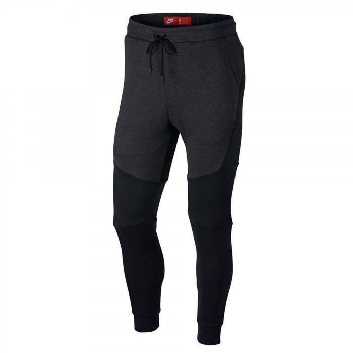 Fleece Noir Pantalon Survêtement 805162 Tech 011 Nike De KyqSrq4BP